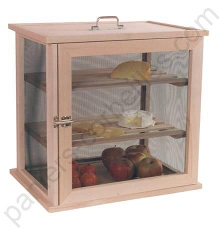 garde manger en bois et grillage fin 2 claies 1 porte. Black Bedroom Furniture Sets. Home Design Ideas
